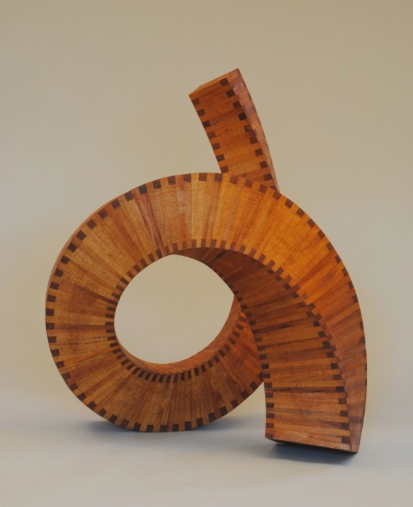 Abstract Wood Sculpture Modern Art