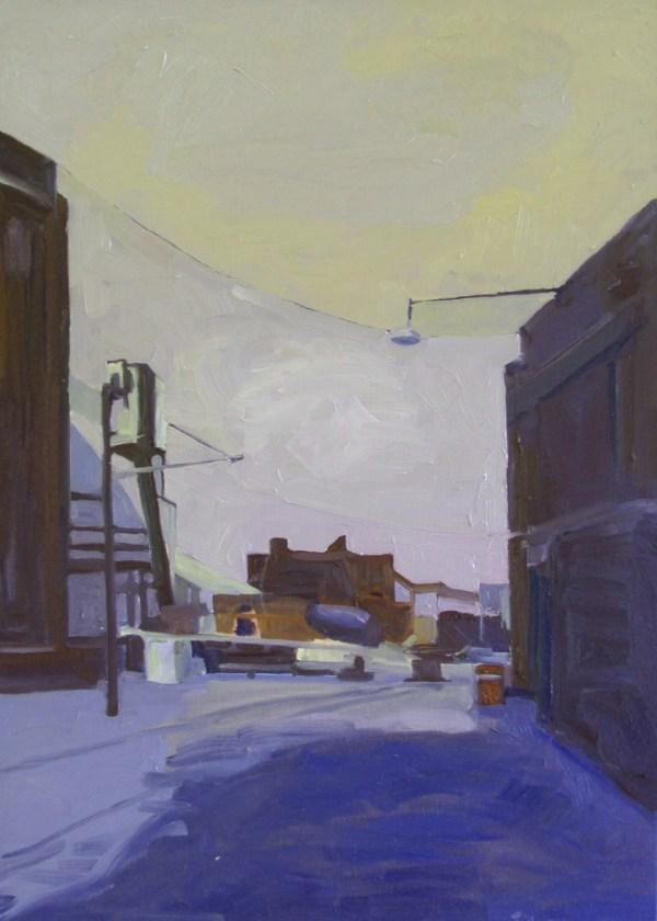 """painting """"urban landscape erie"""