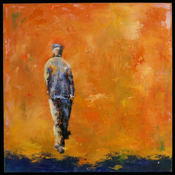 Paintings Walking Man Shanna Bruschi