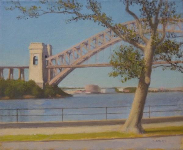 "Painting ""hell Gate Bridge Astoria Park"