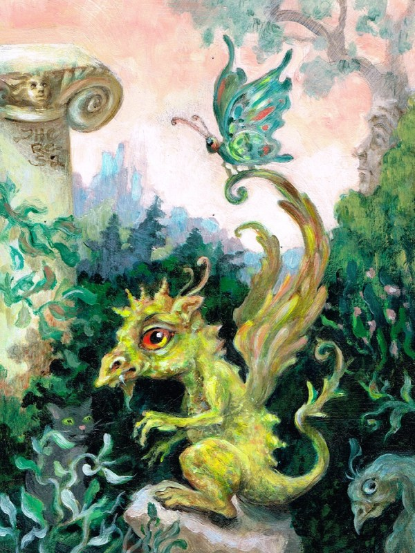 Happy Dragon Paintings