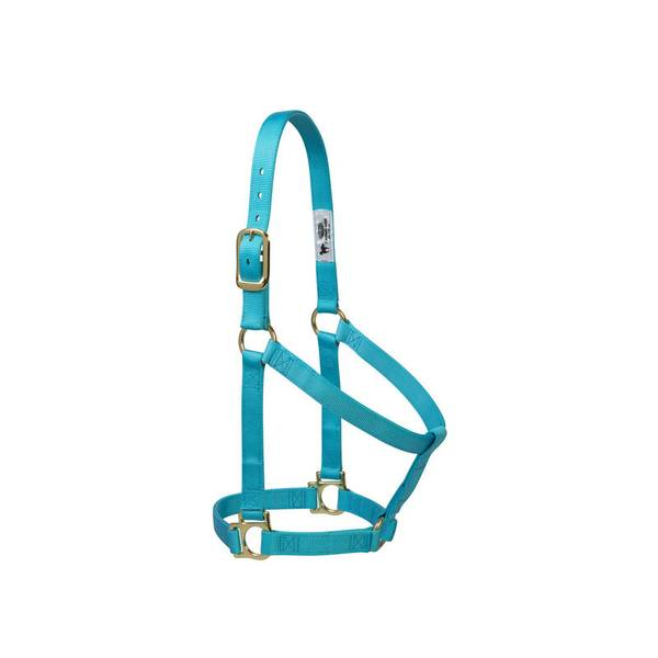 When you're looking for the perfect combination of dependability and value, our Weaver Leather Basic Halters are the right choice. With features like brass plated hardware, box-stitching at stress points and oblong buckle holes, this 1