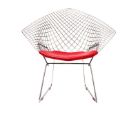 DesignApplause   Bertoia diamond lounge chair. Harry bertoia.