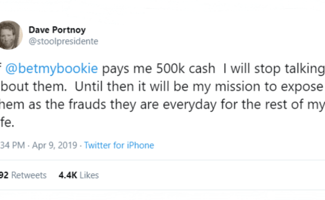 Did Barstool Just Join The Fight Against Illegal Bookmakers