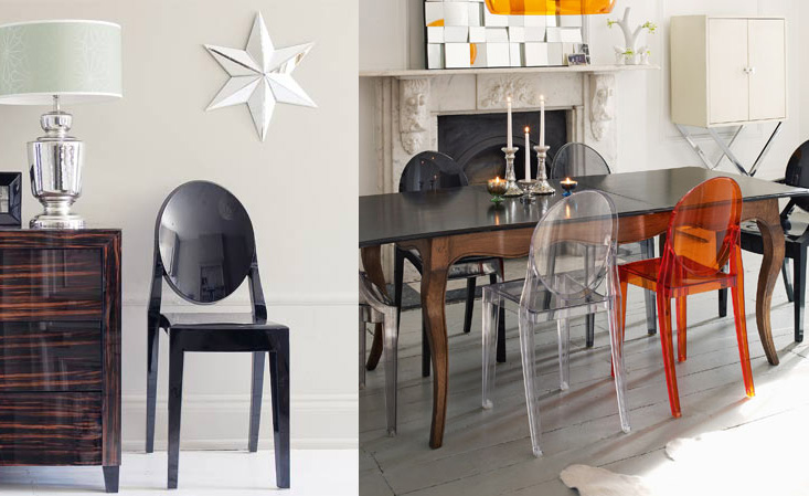 victoria ghost chair best sleeper and a half icons of design by starck from kartell philippe for