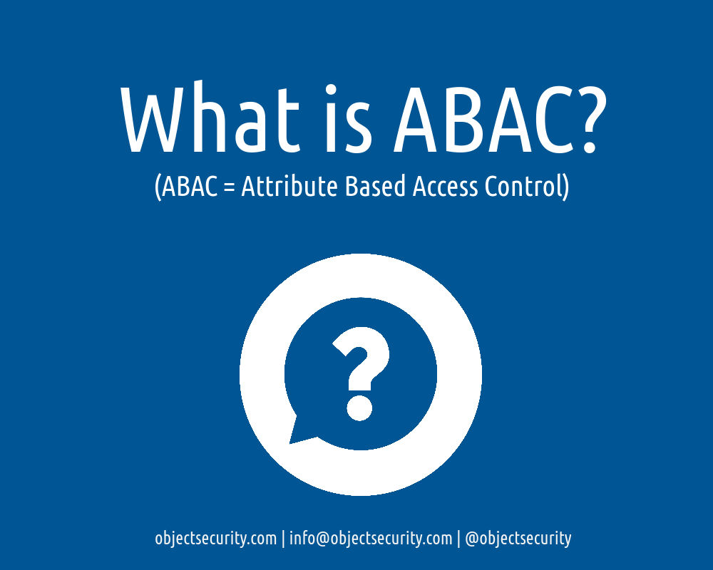 attribute based access control policies