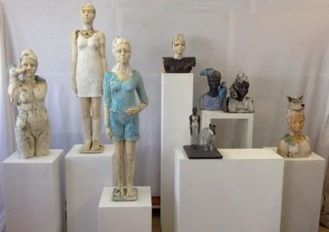 Skulpturen aus Ton 1