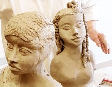 Workshop Kopf modellieren Mai 20