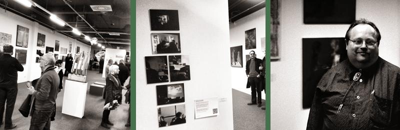 Ausstellungseroeffnung BBK Aachen/Euregio Jahresausstellung 2012 Instagram #5, #6 und #7