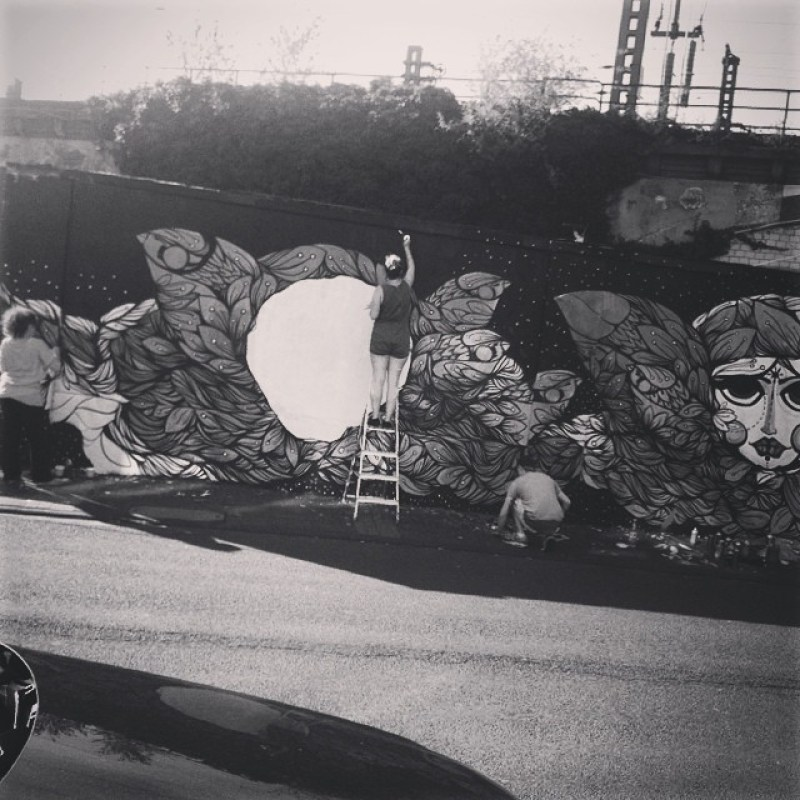 Erwischt ;) #streetart #koeln #ehrenfeld #bahnhof #thisiscologne Instagram