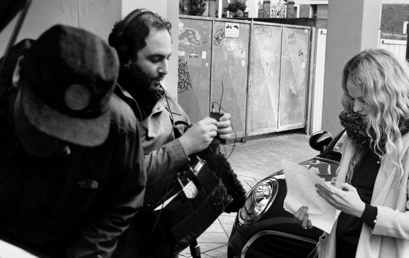 Das WDR Kamerateam bei den Vorbereitungen