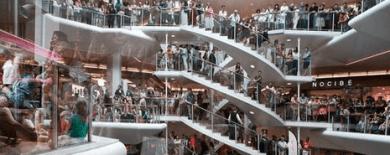 """Résultat de recherche d'images pour """"centre commercial lyon part-dieu plein"""""""