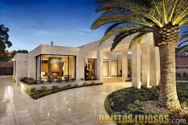 Casas con fachadas modernas y lujosas Objetos Lujosos
