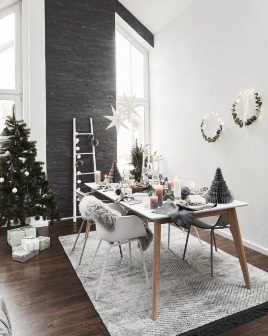 Estilo de decoración escandinavo. Tendencias de invierno