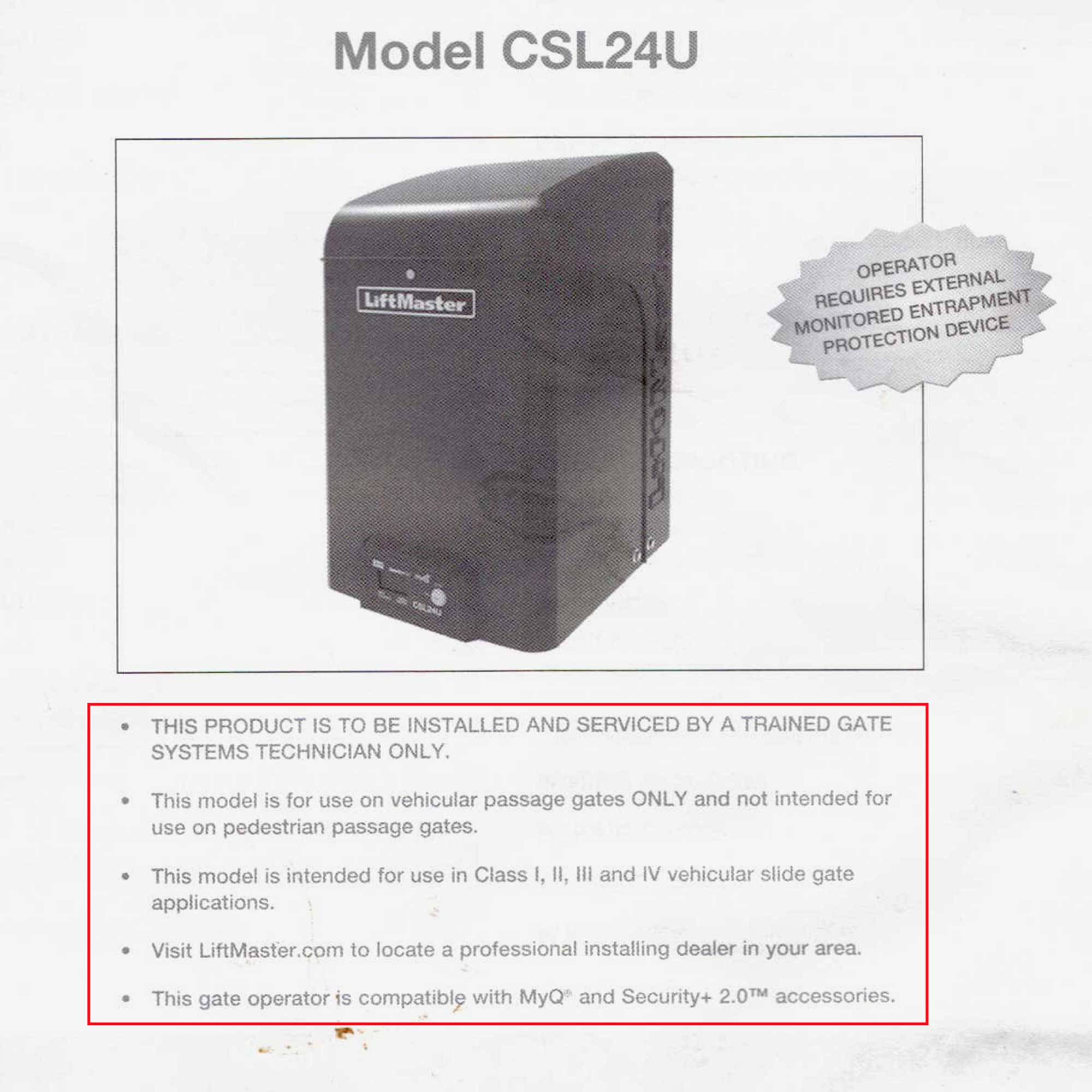 Our Massive LiftMaster CSL24U Debacle | Obliviots