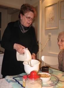 Ivanka Biluš voli kuhati i peći za one koje voli (Snimila Božica Brkan / Acumen)
