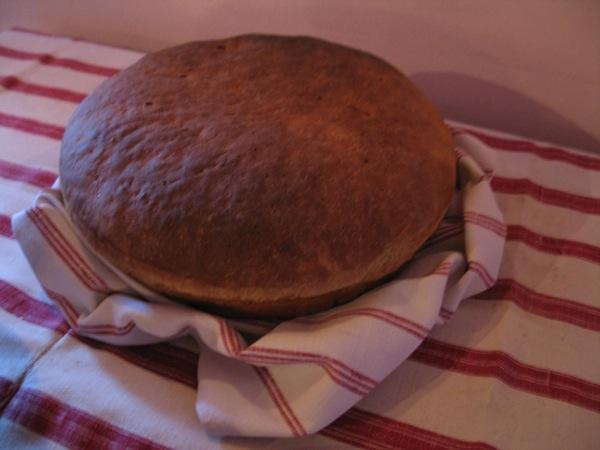 Domaći kruh također iz Štefičine pećnice (Snimila Božica Brkan / Acumen)