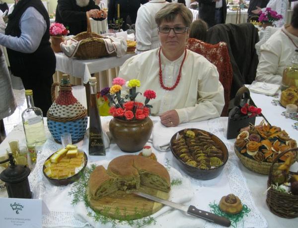 Slavica Strsoglavec sa svojim slano-slatkim stolom (Snimila Božica Brkan / Acumen)