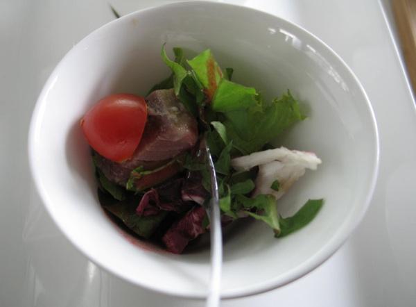 Sve su salate vrlo pomno komponirane i začinjene (Snimila Božica Brkan / Acumen)