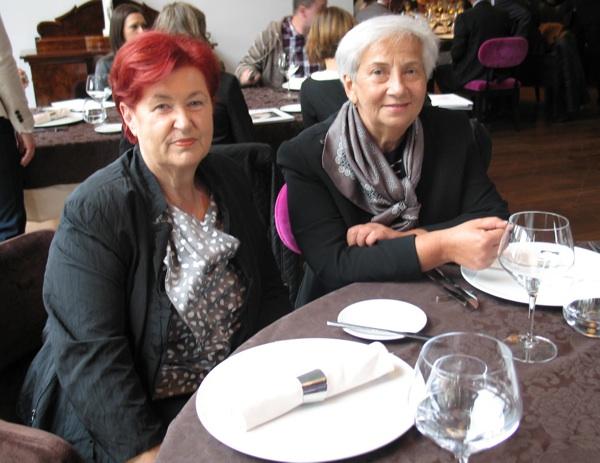 Dvije županice krapinsko-zagorske, sadašnja Sonja Borovčak i bivša Vlasta Hubicki, izuzetno ponosne i na besplatnu promociju, ali i na trud svojih Zagoraca koji to zaslužuje (Snimio Miljenko brezak / Acumen)