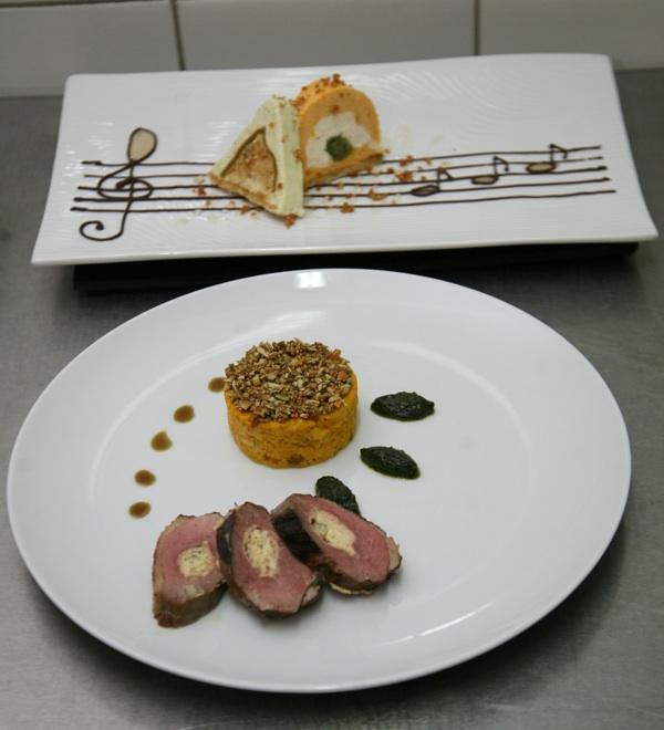 Glavno jelo i desert Ivice Žulja (Fotografija Krapinsko-zagorska županija)