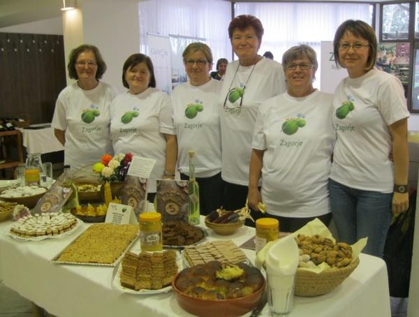 Babice i Babičini kolači također u promociji dobrih zagorskih proizvoda, zagorskoge gostoljubivosti i turizma (Snimio Miljenko Brezak / Acumen)