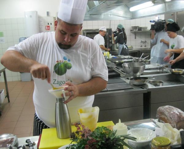 Spoj odličnih starinskih namirnica i moderne kulinarske tehnologije (Snimio Miljenko Brezak / Acumen)