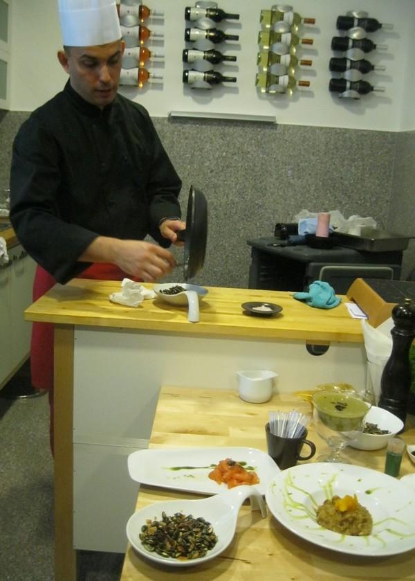 Chef Robert Slezak: znanjem i zanatskim umijećem do ukusnih kreacija (Snimio Miljenko Brezak / Acumen)