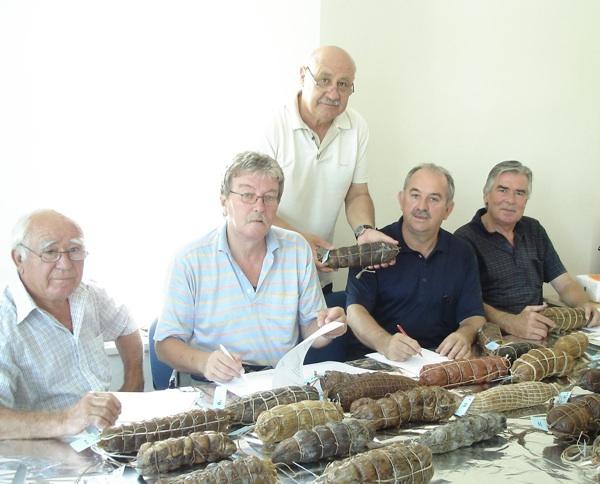 Ocjenjivački sud Šokolijade (Fotografija Marija Dejanović, TZ Nin)