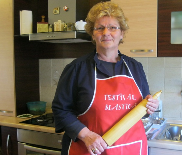 Nada Posavec u svojoj kriškoj kuhinji