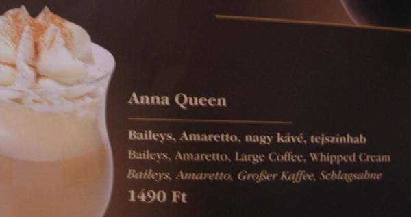 Moje kraljevsko piće u karti... (Snimila Božica Brkan / Acumen)