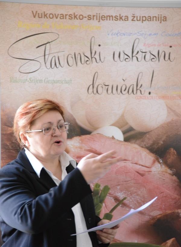 Božica Brkan o županjskom slavonskom fruštuku i slavonskoj šunki (Snimio rene karaman / Menu)