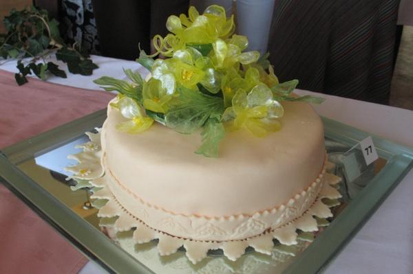 Torta nagrađena na kriškom festivalu slastica 2010. (Snimio Miljenko Brezak/ Acumen)