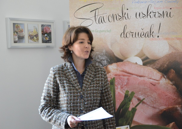 Ana Marušić Lisac na jednoj od radionica Vukovarsko-srijemske županije u zagrebačkome Centru za kulturu prehrane (Snimio Rene Karaman / Menu)