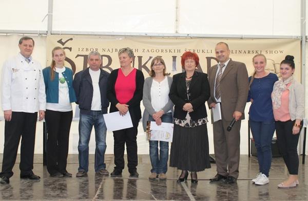 Proglašenje pobjednika na Štruklijadi 2013. (Fotografija Krapinsko-zagorska županija)
