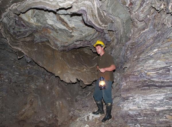 Jedno od rudarskih okna u Rudama (Snimio Romeo Ibrišević / Oblizeki)