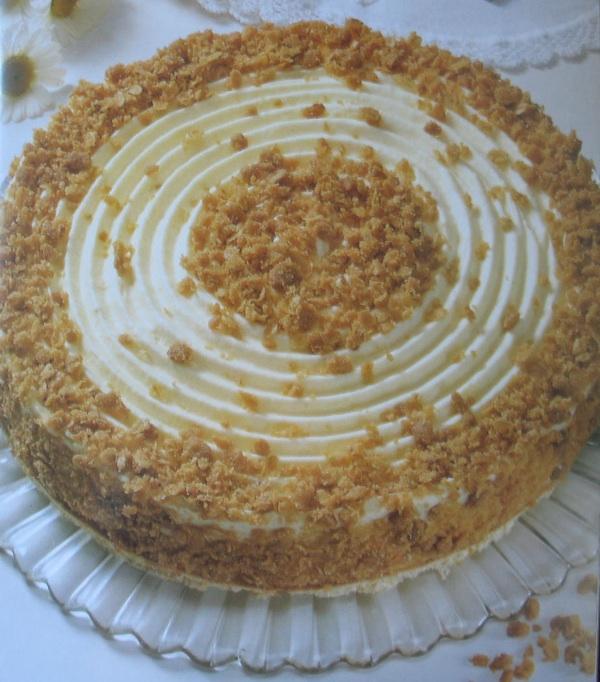 Parfe torta od sira iz Slastica u Hrvata Ivanke Biluš, Ivanke Božić, Cirile Rode i Božice Brkan u izdanju Alfe