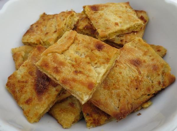 Tenka gibanica sa sirom i sjeckanim orasima gospođe Ane iz Marije Bistrice (Snimio Miljenko Brezak / Oblizeki)
