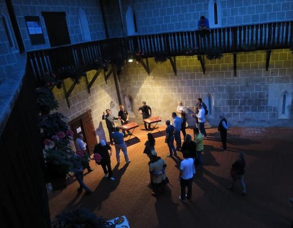 Koncert mladih cimbalista u sumrak u tvrđavi (Snimila Božica Brkan / Oblizeki)