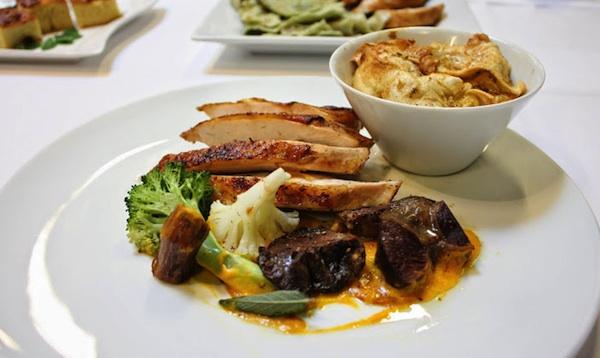 Glavno jelo najbolje ociejnjenoga zagorskog chefa (Snimila Mirela Behin / Krapinsko-zagorska županija)