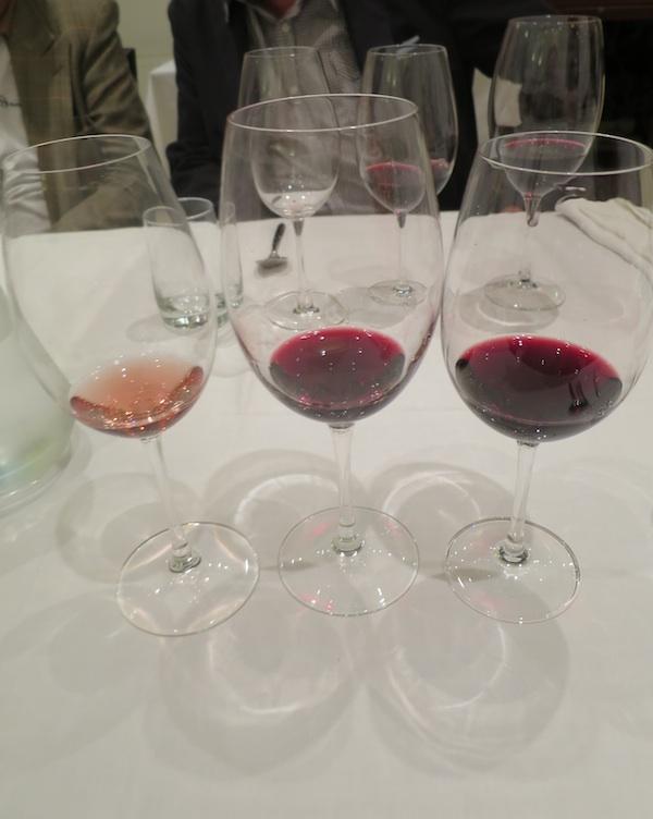 Tri kušana vina: korlat Rose 2014, Korlat Merlot 2011 i Korlat Merlot Boutique 2011 (Snimila Božica Brkan / Oblizeki)