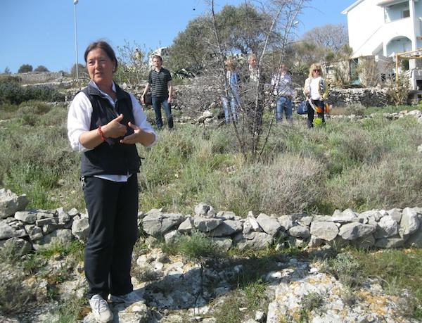 Sandra Nikolich, začetnica Miomirisnoga vrta (Snimio Miljenko Brezak / Oblizeki)