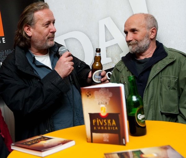 Gula i Dučak na promociji svoje knjige (Fotografija Profil)