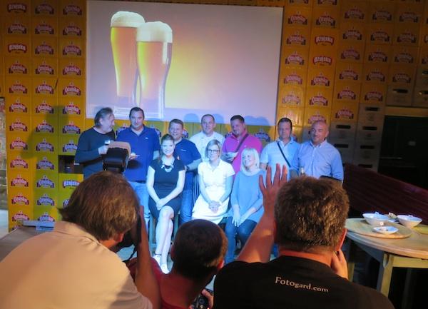 Pivski stručni izlagači (Snimio MIljenko Brezak / Oblizek