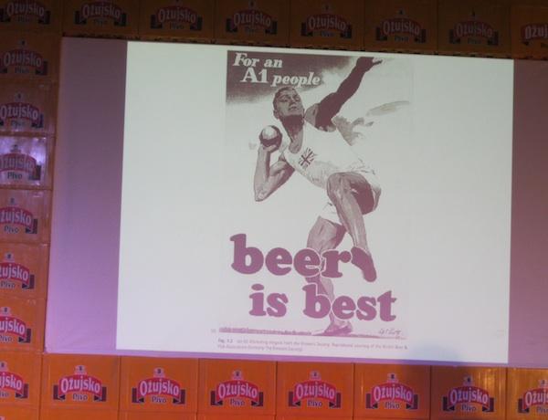 S prezentacije: jedna od povijesnih promocija u korist piva  (Snimio MIljenko Brezak / Oblizek