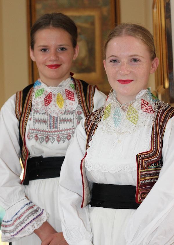 Narodna nošnja iz Ruda (Fotografija Jelena Nikl / Pekarnica Nikl)