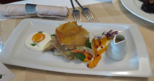 Nagrađeno glavno jelo Jaje na kokoš (Snimila Božica Brkan / Oblizeki)