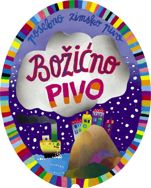2002. godine bocu Božićna piva umjetničkom je označio Vojo Radoičić.
