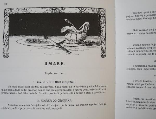 Reprint Veliek građanske kuharice Zlatke Sudete iz 1922. izuzetno je vrijedna knjiga (Fotografija Oblizeki)