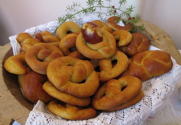 Dio tradicijskih uskrsnih/ uskršnjih oblizeka iz Zagorja (Fotografija Božica Brkan / Oblizeki)
